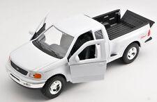 BLITZ VERSAND Ford F-150 Pick Up 1999 weiss / white Welly Modell Auto 1:24 NEU