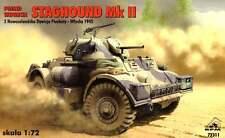 STAGHOUND Mk II ARMOURED CAR (BRITISH/NEW ZEALAND MKGS) #72311 1/72 RPM