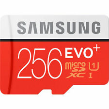 Samsung EVO Plus 256GB UHS-I MicroSDXC Micro SD Memory Card micro sd 256gb