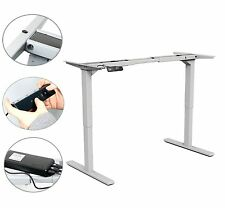 YaeKoo Dual Motor Sit-Stand Height Adjustable Table Work Desk Frame-Electric