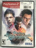 Virtual Fighter 4 Evolution (greatest hits) PS2 Game Case Fast Shipping
