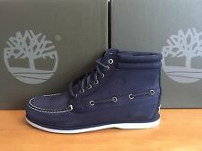 Timberland 7 Eye Chukka Navy Boot Uk 6.5 Eu 40 (A13JA)