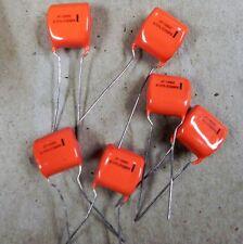 Sprague 225P47491XD3 0.47uF 100V 10% PET Capacitor 226pcs New Orange Drop