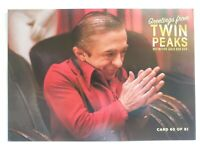 Twin Peaks Gold Box Postcard #60 of 61 - The Man From Another Place - 2007
