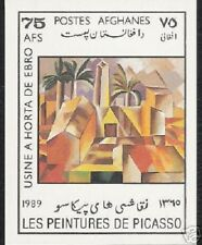 AFGHANISTAN 75 AGHANI 1989 PICASSO PAINTING IMPERF UM MINT STAMP MINIATURE SHEET