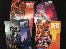 SIEGE (Avengers)  : Marvel Limited Series 2010  Issue 1-4 - Brian Michael Bendis