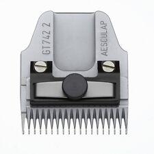 Aesculap Favorita Schneidsatz GT742, 2,0mm. Lange Zähne. Scherkopf Schermesser