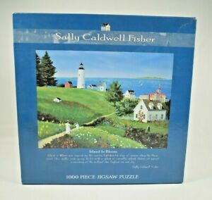 Ceaco - Island in Bloom by Sally Caldwell Fisher - 1000 Piece Jigsaw Puzzle New