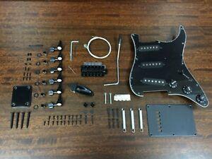Black Electric Guitar Hardware Accessories Parts-Full Set. HSST 1910PP-BK