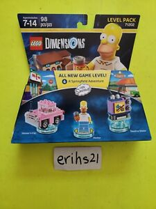 LEGO Dimensions Level Pack 71202 The Simpsons Homer BRAND NEW FREE SHIPPING