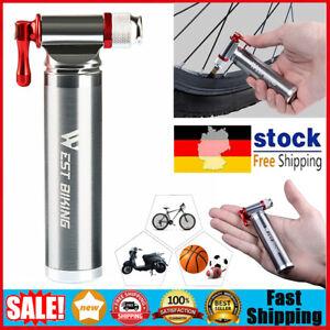 WEST BIKING CO2 Pumpe Alu Luftpumpe Kartuschenpumpe Fahrrad Reifenfüller DE
