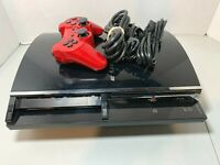 Sony PlayStation 3 PS3 Backwards Compatible Console CECHE01 Complete Tested