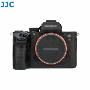 JJC Shadow Black Anti-Scratch Protective Skin Film for Sony a7 III, a7R III