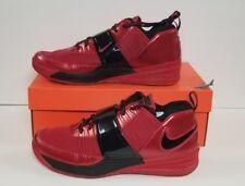 NIKE MEN'S ZOOM REVIS SIZE 9.5 VARSITY RED/ BLACK NEW IN BOX 555776 600