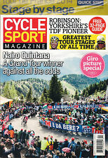 NEW CYCLE SPORT Magazine August 2014 Bike FREE Tour de France 32 Pg Stage Guide