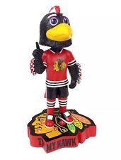 Tommy Hawk Mascot Chicago Blackhawks Kollectico NHL Bobblehead Bobble Figure NIB