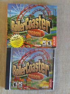 Roller Coaster Tycoon Atari CD-ROM for WIN 95/98