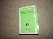 Oppian, Colluthus, Tryphiodorus Loeb Classical Library