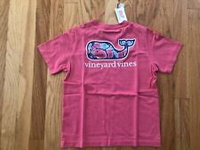 NWT Boy's Vineyard Vines Shell Crab Whale Fill Pocket T-Shirt XL $29.50