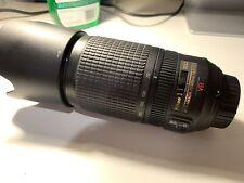 Nikon Nikkor AF-S 70-300mm f/4.5-5.6G IF-ED VR Lens