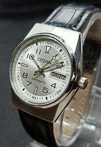 Used Citizen Automatic 21 Jewel Movement no 8200A Japan Made Men's Watch.