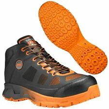 Timberland PRO Shoes Mens Velocity Alloy Toe Mid Black/Orange A16RF