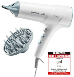 Grundig Foaming Ions Pro 2300W Diffusor Styling Nozzle Hair Dryer Strong Hair