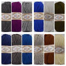NEU Alize Lanagold Plus warme Wolle 14 Farben 100g stricken LL. ca. 140m