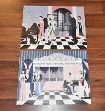 2 Norma Heyn Prints Litho 1986 Art Deco vintage Scafa Tornabene Publishing USA
