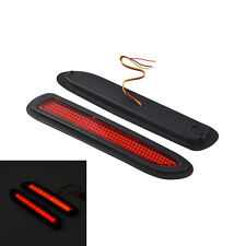 Universal Car Brake Light Truck Trailer Taillight Red Warning Bumper Reflectors