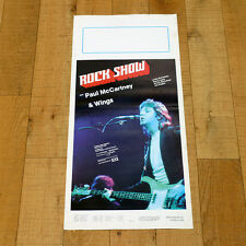 ROCK SHOW locandina poster affiche Paul McCartney & Wings Denny Laine Music AJ52
