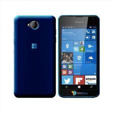 Cover Para Nokia Lumia 650, in silicone TPU transparente Azul