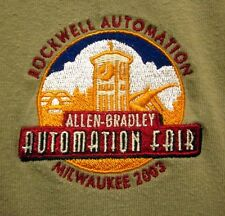 ROCKWELL AUTOMATION Milwaukee 2XL polo shirt 2003 Allen-Bradley fair XXL