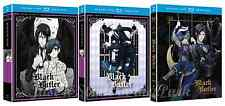 Black Butler Anime Series Complete Seasons 1 2 3 DVD / BluRay Combo Set(s) NEW!