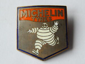 Michelin Brosche garantiert alt & original mit Hersteller