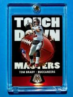 Tom Brady PANINI MOSAIC TOUCHDOWN MASTERS SPECIAL INSERT TAMPA BAY 2020 - Mint!