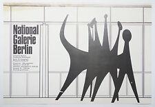 Wieland Schütz -  Nationalgalerie Berlin - Plakat - Plastik Calder