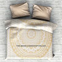 Super King Size Mandala Duvet Cover Comforter Indian Quilt Cover & 2 Pillow Sham