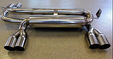 BMW E46 M3 2001-2006 3.2L I6 T304 Stainless High Performance Axle Back Exhaust