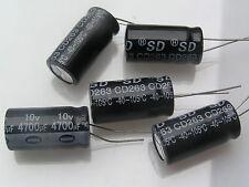 Condensador electrolítico 4700uf 10V radial 105'C OL0089c 5 piezas