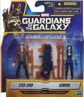 Marvel Guardians of The Galaxy Star-Lord and Gamora Figure Twin Pack