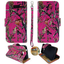 Flip Wallet For Motorola Razr Maxx M Xt907 Style Case Cover Camouflage Pink Ever