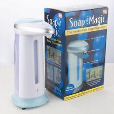 Dosatore dispenser sapone mani bagno ad infrarossi con sensore CONSEGNA RAPIDA