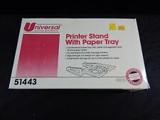 UNIVERSAL PRINTER STAND WITH PAPER STAND & 600 SHEET STORAGE  REPLACEMENT PC