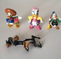 Disney Figures Donald Duck And Others Lot