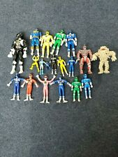 VINTAGE POWER RANGERS 19 Figure Lot
