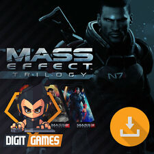 Mass Effect Trilogy - Origin Key / PC Game - New / RPG / 1, 2, 3 [NO CD/DVD]