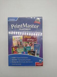 Printmaster Platinum V9 Encore DVD & Digital SEALED Retail Box