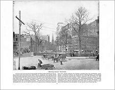 Bowling Green New York / INDIAN RIVER FLORIDA  1897 PRINT