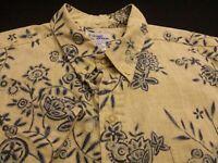 Reyn Spooner Mens 2XL Short Sleeve Button-Down Multicolor Floral Hawaiian Shirt